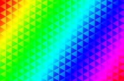 Fond de modèle de triangle Images stock