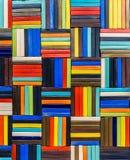 Fond de modèle en céramique de multicolore Images stock