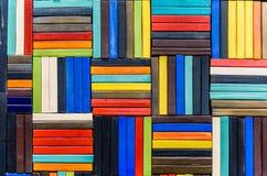 Fond de modèle en céramique de multicolore Photo libre de droits