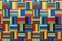 Fond de modèle en céramique de multicolore Photo stock