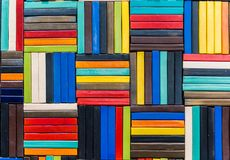 Fond de modèle en céramique de multicolore Photos libres de droits