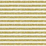 Fond de modèle rayé de scintillement d'or Photos stock