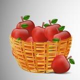 Fond de mois d'alcool de pommes illustration stock