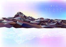 Fond de montagne Illustration Libre de Droits