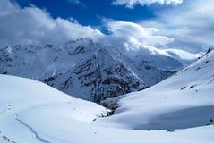 Fond de montagne Photo libre de droits