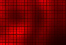 Fond de mosaïque arrondi par résumé rouge profond de Bourgogne illustration stock