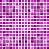 Fond de mosaïque dans des sons pourprés Image libre de droits