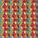 Fond de mosaïque de couleur Images libres de droits