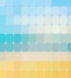 Fond de mosaïque de couleur d'été Vecteur illustration stock
