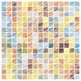 Fond de mosaïque de griffonnage Photographie stock libre de droits