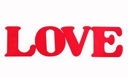 Fond de mot d'amour Photos libres de droits