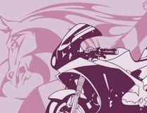 Fond de moto Images stock