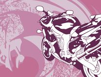 Fond de moto Photo libre de droits