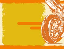 Fond de moto Photographie stock