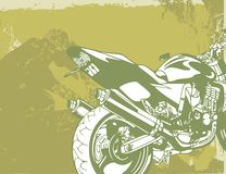 Fond de moto illustration de vecteur