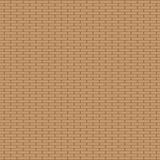 Fond de mur de briques de Brown Modèle sans couture de beau mur de briques illustration libre de droits