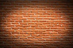 Fond de mur de briques de terre cuite Photo stock