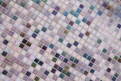 Fond de mur de briques de tuile Photo libre de droits