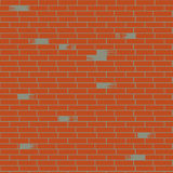 Fond de mur de briques de vecteur Images libres de droits