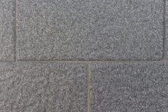 Fond de mur de briques gris Photographie stock