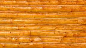 Fond de mur de cabine de logarithme naturel Photos libres de droits