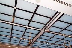 Fond de mur de réseau de plafond Images stock