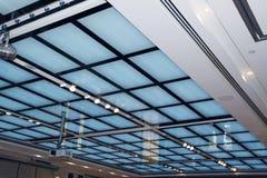 Fond de mur de réseau de plafond Image libre de droits