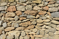 Fond de mur en pierre Photos stock