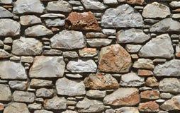 Fond de mur en pierre Photographie stock libre de droits