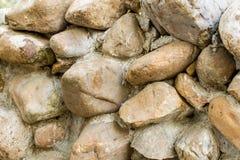Fond de mur en pierre de Brown photographie stock