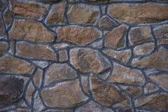 Fond de mur de façade d'ardoise de maçonnerie photographie stock