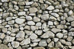 Fond de mur de pierres sèches de Gallois image stock