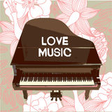 Fond de musical de vecteur Photos libres de droits