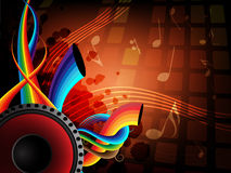 Fond de musique Photo stock