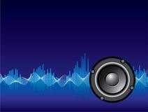 Fond de musique Photographie stock libre de droits