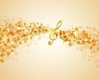 Fond de musique Image libre de droits