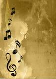 Fond de musique Photos stock