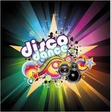 Fond de musique de disco illustration stock