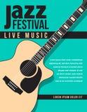 Fond de musique de festival de jazz Images stock