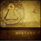 Fond de mystère Photos stock