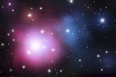 Fond de mystique d'astrologie Espace extra-atmosphérique Illustration de Digital de vecteur d'univers Fond de galaxie de vecteur illustration libre de droits
