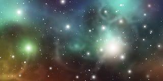 Fond de mystique d'astrologie Espace extra-atmosphérique Illustration de Digital de vecteur d'univers Fond de galaxie de vecteur illustration stock