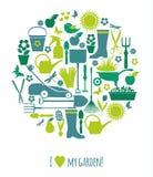 Fond de nature de jardin Image stock