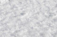 Fond de neige Photographie stock
