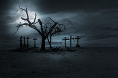 Fond de nght de Halloween Photo stock