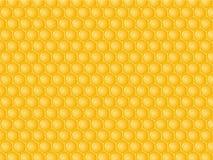 Fond de nid d'abeilles Photographie stock libre de droits