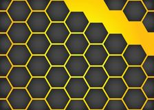 Fond de nid d'abeilles de vecteur Images stock