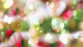 Fond de Noël banque de vidéos