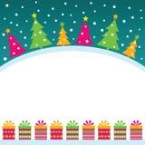 Fond de Noël Illustration Libre de Droits