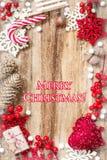 Fond de Noël Images libres de droits
